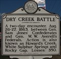 Image for Dry Creek Battle - White Sulphur Springs, West Virginia
