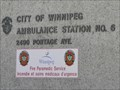 Image for Ambulance Station No. 6 - Winnipeg MB