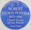 Image for Robert Baden-Powell - Hyde Park Gate, London, UK