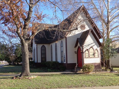 Oldest Church Building Waxahachie Tx First Of Its Kind On Waymarking