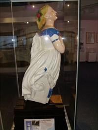 SS Terra Nova - figure head - National Museum of Wales.