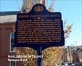 Image for Newport Fugitive Slave Rescue - Newport PA