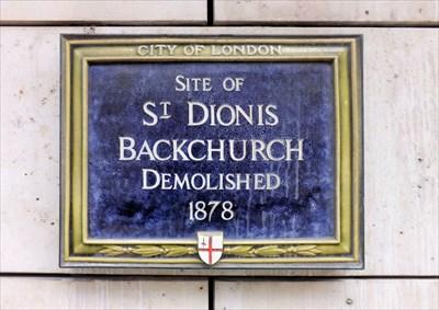 Image result for st dionis backchurch london
