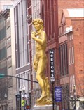Image for Gold Statue of David - Louisville, Kentucky