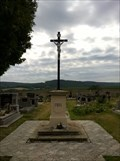 Image for Central Cross On Vinarice Cemetery, Czechia