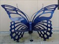 Image for Butterfly Bench at the McGuire Center - Gainesville, FL