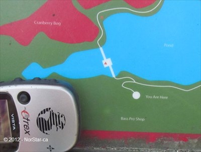 You Are Here - The Nature Trail and Cranberry Bog, Patriot Place ...