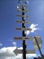 Image for Flèches de direction et distance - St-Sauveur, QC