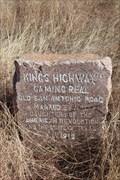 Image for El Camino Real -- DAR Marker No. 89, Pleasanton Rd at Osburn Sand Co. Rd, San Antonio TX