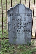 Image for FIRST Documented Burial in Goshen Cemetery - Eustace, TX
