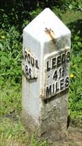 Image for Leeds Liverpool Canal milestone – Barnoldswick, England