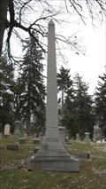 Image for Potter Family Obelisk - Mt Evergreen Cemetery