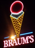 Image for Braum's  Neon - Route 66, Weatherford, Oklahoma, USA.