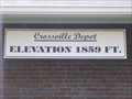 Image for Crossville Depot,  Elevation 1859 ft ~ Crossville Tennessee
