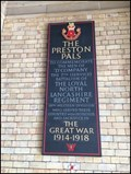 Image for First World War Memorial, Preston Rail Station, Preston, Lancashire, UK