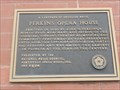 Image for Perkins Opera House Bicentennial Plaque - Monticello, FL
