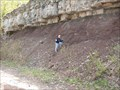 Image for Queenston Shale / Whirlpool Sandstone Contact - Lockport, New York