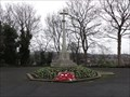 Image for Combined World War I And World War II Memorial Cross - Shipley, UK