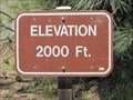 Image for Mount Diablo State Park - Summit Rd - 2000 Ft.
