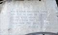 Image for Prophet Joshua - Boulder Monument - Selma Civil Rights Park, Selma AL