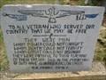 Image for Omer Church War Memorial - Winder, GA