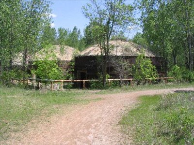 Here are the remians of some of the old kilns.