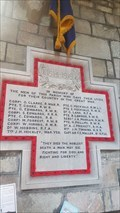 Image for Memorial Cross - All Saints - Leek Wootton, Warwickshire