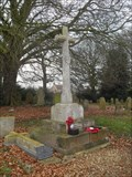 Image for Combined War Memorial - St.Mary the Virgin's Churchyard, St.Mary the Virgin, High Street, Whissonsett, Dereham, Norfolk. NR20 5AP