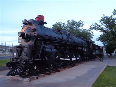 veritas vita visited Last Steam Locomotive Run on the Santa Fe Railroad