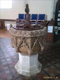 Image for Baptism Font, St Mary - Buxhall, Suffolk
