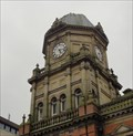 Image for Combined Libray, Police Station And Fire Station Clock - Leeds, UK