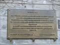 Image for Pametní deska pochodu studentu na Hrad / A memorial plaque of student protest march to the Castle, Praha – Malá Strana, Czech republic