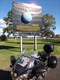 Image for World's Largest Virtual Solar System Drive - Neptune - Gilgandra, NSW, Australia