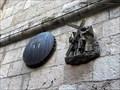 Image for Station 6: Veronica wipes the face of Jesus - Via Dolorosa, Jerusalem, Israel