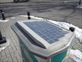 Image for Solar Powered Parking Meter Number 821 - Calgary, Alberta