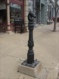 Image for Horse Hitching Post – Walnut, IA