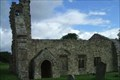Image for Wharram Percy deserted village.Yorkshire UK.