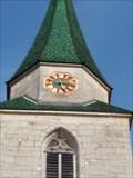 Image for Church Clock - Michaelskirche - Entringen, Germany, BW