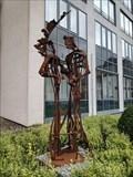 Image for Dädalus und Ikarus - Figures of Greek mythology - Andernach, RP, Germany