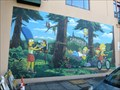 Image for Simpsons Mural - Springfield, Oregon