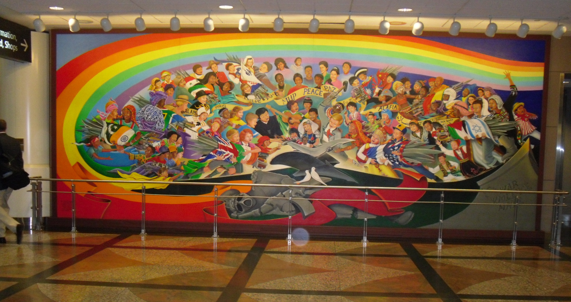 Photo by mark persons for Denver mural airport