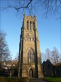 Image for Former Christ Church Tower - Crewe, Cheshire, England, UK.