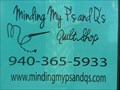 Image for Minding My P's & Q's Quilt Shop