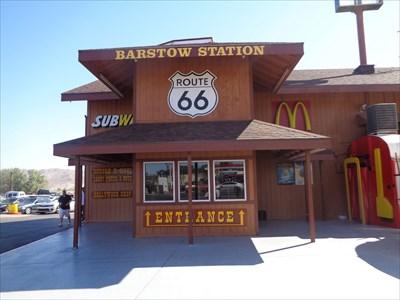 veritas vita visited Barstow Station