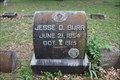 Image for Jesse D. Burr -- Greenwood Cemetery, Dallas TX