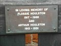 Image for Flossie & Arthur Houlston, Holy Trinity & St Mary, Dodford, Worcestershire, England