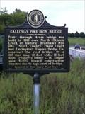 Image for Galloway Pike Iron Bridge