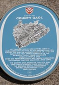 Image for County Gaol - Historic Marker - Cardiff, Wales.