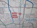 """Image for San Tomas Aquino Creek """"You are here"""" (Walsh Ave) - Santa Clara, CA"""