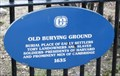 Image for Old Burying Ground [Cambridge]